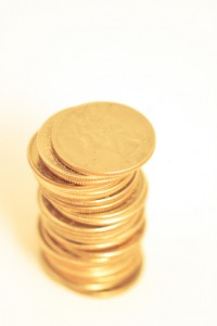 Investing In Gold | Small Gold Coin Stack