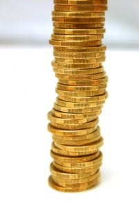 Investing In Gold | Large Gold Stack