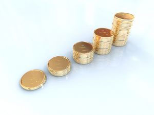 Gold coins graph | Protect your retirement with physical gold and silver