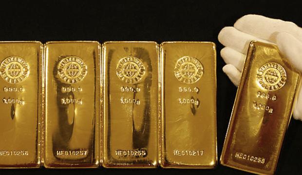 gold bars white glove